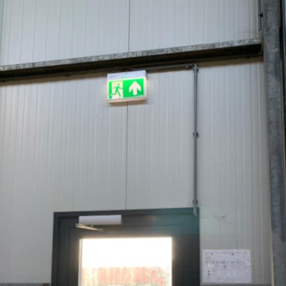 Verlichting utiliteitslicht noodverlichting