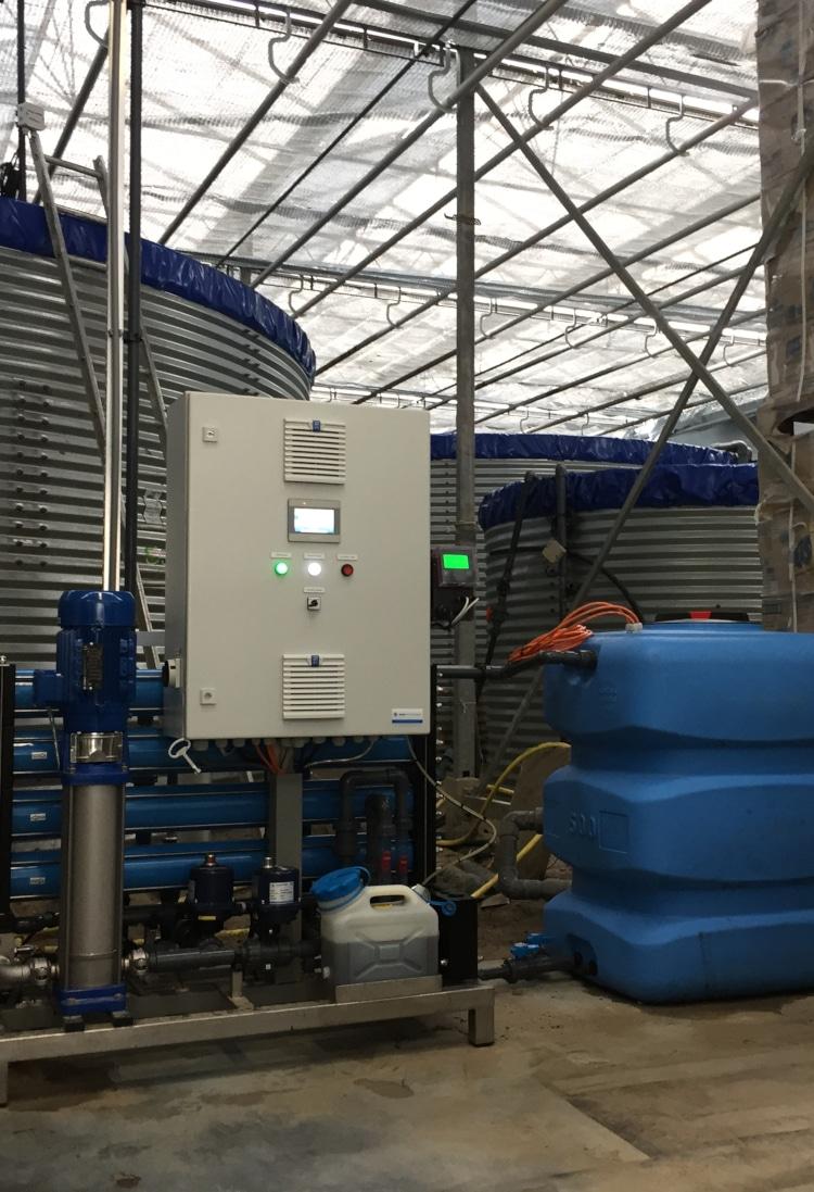Waterbehandeling Osmose